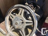 Wheels, great condition, probably wouldn't run the