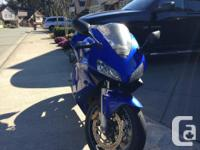 CBR 600 RR 2004, in mint condition and ready for the