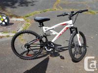 CCM mountain bike for sale in like-new shape. Bike was
