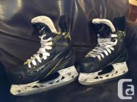 CCM Jr. Vector Tacks Skates size 2D, shoe size 3 These