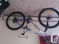 Both are brand new mountain bike as disk brakes,front