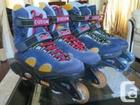CCM Siena Rollerblades skates men's size US 11, 12