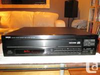 I am marketing my Yamaha CDC-665 - 5 Disc Gamer. System