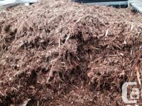 5 gallons of Cedar bark mulch for sale $5 each or 4 for