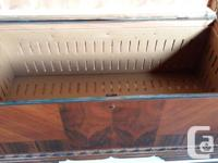 Old Cedar Chest/ Blanket Box. In good clean condition