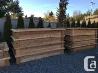 CEDAR PRODUCTS **** LOCATED IN NANAIMO*****  AL SIDES