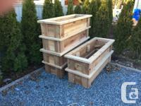 CEDAR PRODUCTS ****** LOCATED IN NANAIMO*****  RAISED