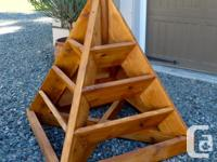 Stylish 6ft pyramid strawberry, herb, vegetable or