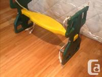 For sale is a used Glider Swing for a Cedar Summit