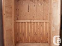 I have for sale a cedar wardrobe manufactured in Quebec
