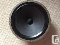 Celestion EVH Greenback 8 ohms $90 This is an EVH