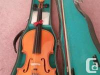 I am marketing this violin for $100 obo. Demands bow