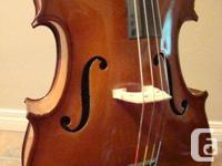 "1/4 size Czechoslovakian made Cello in ""exceptional"""