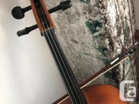 Selling a 4/4 Full size Cremona Cello in excellent