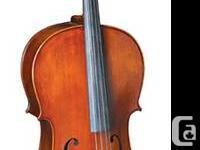 Cello FMC760E $898.00 Cello Size:4/4;  TOP:SOLID SPRUCE
