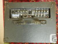 Great little 3 channel, multi-purpose PA amp. Great for