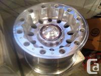 Selling 5 16 Inch Rims. Like new. Manufactured by