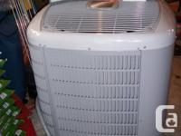 Two ton 15.5 SEER Carrier High Efficiency Central Air