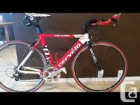 CERVELO 51 centimeters for sale. Tuned up in late June.