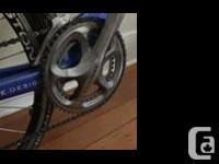 Well-loved Cervelo TT / Triathlon (time trial) bike for