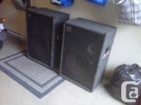 Speakers sold as a pair only. These 18 incher three-way