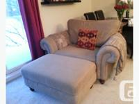 Chair and ½ and Ottoman for sale. $275 for both! Really