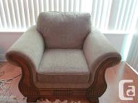 Chair -- size: 48 inches (Length) x 38 inches (width) -