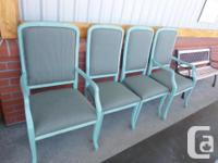 Price per chair $45 at the Treasure Shack #1, 239