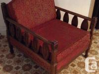 Chaise vintage - Fauteuil antique style Espagnol