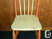 Huge variety of antique coated, wood chairs. Many
