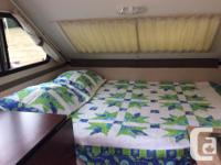 Model: XL 1930. Great condition fold up travel trailer
