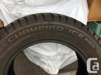 These tires were only used for a few months. Very low