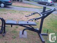 I'm down sizing and have this weight machine/bench that