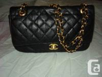 I have for sale a authentic vintage Chanel Paris black