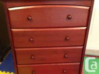 *Dresser* Great shape. Slight scratches in top. Drawers