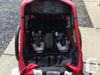 Chariot Cougar 2 Bike Trailer. Made for two kids to sit