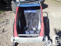 Double stroller. Older, but fairly good condition,