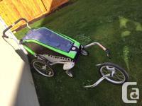 Stroller + jogging wheel kit + bike kit Perfect for