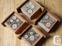 Now is the time to attract the mason bees to your