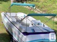 1999 24' Cheetah deck boat with low hours, 310 HP 454