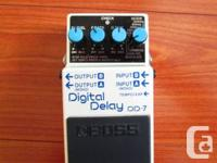 Selling my Employer Digital Hold-up pedal (DD-7).