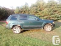 Make Jeep Model Cherokee Year 2005 Colour Dark Green