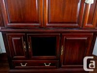 Thank you for your interest in our Cherry Cabinet