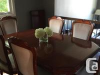 Beautiful solid wood, excellent condition set