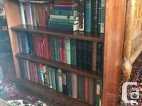 Top Quality Cherry Wood Gibbard Bookshelf. Made in