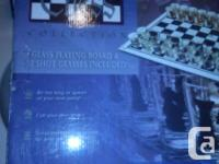 Just what it says, lol a chess board with shot glasses