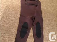 $100 Bare: Chest waders, Mens Lg, Brown, never used.