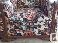 New Reduced Price. Chesterfield and matching chair with