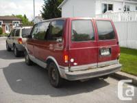 I have 2 rear  doors from my BURGANDY Astro van $50