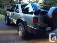 Make Chevrolet Model Blazer Trans Automatic '05 Chev